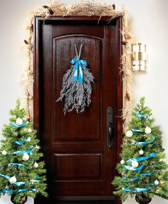 Alternative to typical wreath
