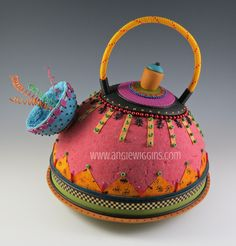 Teapot by Angie Wiggins