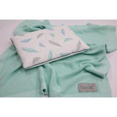 Bambusz kötött takaró - menta Tiny Star, Sunglasses Case, Stars, Products, Mint, Sterne, Gadget, Star