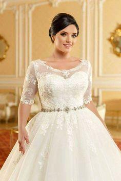 Vestidos de novia para gente gorda