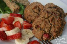 Paleo Strawberry Banana Breakfast Cookie