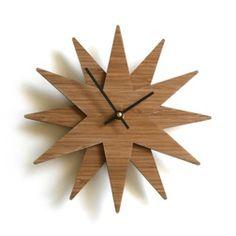 Twinkle Clock by decoylab (etsy)
