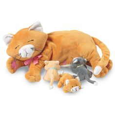 Manhattan Toy Delightfuls Carly Cat Small