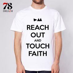 Depeche Mode summer style men's t shirt casual tops tees Men T-shirt music Band Casual O-Neck Short Sleeve #Affiliate