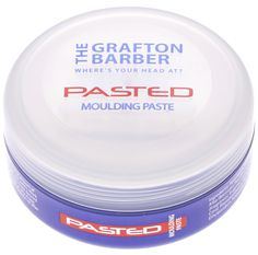 The Grafton Barber Pasted - Moulding Paste using to create any desired looks with rock solid hold. #Hair #Barber #Style