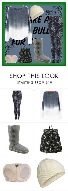 """""""contest"""" by eu-ju-cunha ❤ liked on Polyvore featuring Dex, UGG Australia, Icebreaker, women's clothing, women's fashion, women, female, woman, misses and juniors"""
