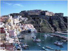 The island of Procida, province of Naples #Italy | Need travel tips for this place? www.gadders.eu/destination/place/Procida