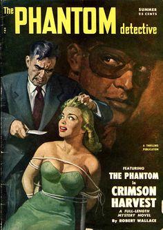 The Phantom Detective by peterpulp