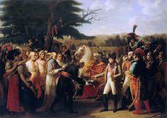 Версальский дворец - Анн-Луи Жироде де Руси-Триозон -- Наполеону преподносят ключи от Вены в Шонбрунне 13 ноября 1805 го