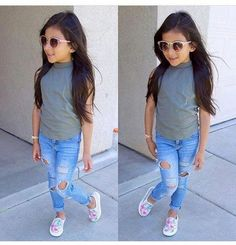 Cute baby girl clothes outfits ideas 50 - September 15 2019 at Fashion Kids, Little Girl Fashion, Toddler Fashion, Cute Baby Girl Outfits, Cute Outfits For Kids, Toddler Girl Outfits, Back To School Outfits For Kids, Kids Outfits Girls, Outfits Niños