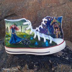 Disney Shoes by ChromaSouls on Etsy