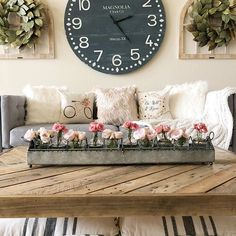 Good morning friends! It's Saturday and what do you have planned for the day? I think I will just hang out here watch some Netflix. Whatever you do, make it a great one! . . . . Be still & know and bicycle pillows by @linenandivory . . . . #thedesigntwins #farmhouse #farmhousedecor #farmhousestyle #modernfarmhouse #makehomeyours #magnoliamarket #hearthandhand #decorsteals #blush #betterhomesandgardens #bhghome #bhgflowers #bhgcolor #cldecor #countrylivingmag #inspire_me_home_decor…