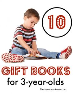 Browse our list of books for 3 year olds for a great gift idea!  We picked our very favorites, making these the perfect gifts for preschoolers.
