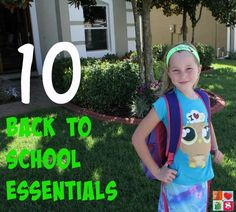 Here is a great list of items that your child will need for school that are not on the list you got from school! Check out these Back to School Essentials.