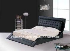 Vega Modern King Size Bed (Black) Matisse,http://www.amazon.com/dp ...