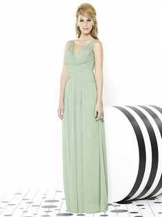 After Six Bridesmaids Style 6711 http://www.dessy.com/dresses/bridesmaid/6711/?color=celadon&colorid=10#.VMsIYIE8KK0