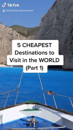 Cheap Places To Travel, Beautiful Places To Travel, Cool Places To Visit, Places To Go, Cheapest Countries To Travel, Cheap Travel, Cheapest Places To Live, Travel Essentials, Travel Hacks