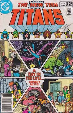 The New Teen Titans was an ongoing comic book series which began publication in 1980 and featured the super-hero team the Teen Titans. DC Comics revived the Teen Titans in the pages of DC Comics Presents #26.