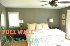 Full Wall Picture Frame Wainscoting