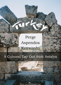 Perge, Aspendos & Kursunlu: A cultural day out from Antalya, Turkey; a blog from TravelJunkieGirl.com