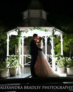 Cinderella Wedding #gazebo #vintagedress