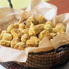 "Fried okra in the summer is a wonderful, wonderful thing. Oven ""fried"" okra under 150 calories is even better Oven-Fried Okra - Summer Side Dishes - Cooking Light Oven Fried Okra, Baked Okra, Oven Baked, Okra Recipes, Vegetable Recipes, Recipies, Ww Recipes, Vegetarian Recipes, Healthy Side Dishes"