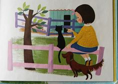 Somebody Hides  A Whitman Fuzzy Wuzzy Book  by Eileen Daly  Illustrated by Dagmar Wilson  Whitman Publishing Co. – 1963