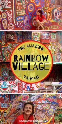 Taichung Rainbow Village: The most colorful city in Taiwan Taipei Travel, Asia Travel, Solo Travel, Beach Travel, Taichung Taiwan, Taipei Taiwan, Selfie City, Taiwan Itinerary, Road Trip