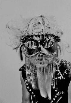 Nobuyoshi ARAKI ::Lady Gaga photo-shoot, 2009
