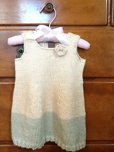 Ravelry: ginabknitstoo's 1st. Baby dress 2color