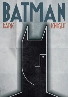 The Dark Knight as Jean Carlu or Cassandré would have done it