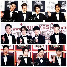 Cn with Bow ties @ kbs gayo  #CNBLUE #yonghwa #jonghyun #jungshin #minhyuk #kpop #instapic #kbsgayodaechukje #yongseo