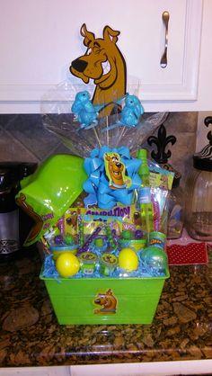Scooby Doo easter basket