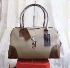 Ralph Lauren Polo Casual Bag White