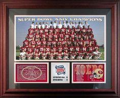 1989 49ers with Joe Montana and Jerry Rice