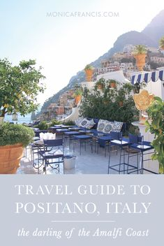 Positano, Italy Travel Guide | The best restaurants, beaches, and aperitivo spots in this enchanting town on the Amalfi Coast. | How to spend a week in Positano, from Franco's Bar and La Sponda at Le Sirenuse to hidden gems and what to pack.  | Where to Stay, What to Wear, Things to Do in Positano | A perfect honeymoon destination.