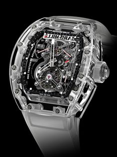 0034f8efe54 The limited edition Richard Mille RM 56 split-seconds competition  chronograph sapphire crystal watch