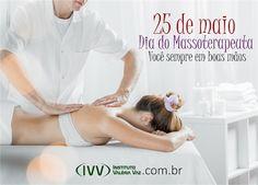 25 de maio – Dia do Massoterapeuta. :) Você sempre em boas mãos! <3  Conheça nossos CURSOS http://institutovaleriavaz.com.br/cursos/ Curta nossa FAN PAGEhttps://www.facebook.com/InstitutoValeriaVaz/