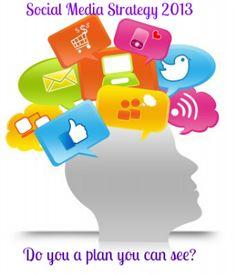 Social Media Strategy 2013 – You do have one, Right? #business #SocialMedia #free #socialstrategytemplate