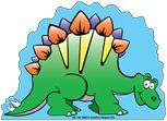 Large Notepad - Stegosaurus