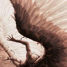 Dark Fantasy, The Wicked The Divine, Angeles, Leelah, Ange Demon, Angel Aesthetic, Vampire, Angels And Demons, Character Aesthetic