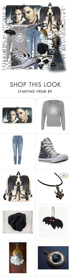 """Supernatural"" by nanitas23 ❤ liked on Polyvore featuring Hot Topic, River Island and Converse"