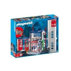 Playmobil 4819 Fire Station: Amazon.co.uk: Toys & Games