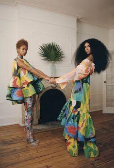 Claudia Li, Elle Us, Happy Coffee, Elle Magazine, Mixing Prints, Kappa, Bottega Veneta, Lanvin, Her Style