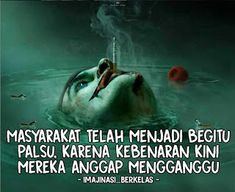 Joker Quotes, Me Quotes, Funny Quotes, Tokyo Ghoul Quotes, Quotes Galau, Inspirational Quotes Pictures, Quotes Indonesia, Islamic Quotes, Captions