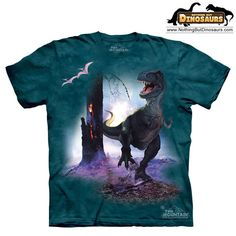 The Mountain Rex Dinosaur Graphic T-Shirt | Nothing But Dinosaurs
