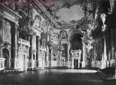 """Hauszmann Alajos - A mai """"B"""" épület """"nagy táncterme Building Aesthetic, Dark Castle, Buda Castle, Royal Residence, In Another Life, Royal Palace, Central Europe, Budapest Hungary, Beautiful Buildings"""