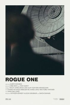 Star Wars Rogue One alternative movie poster