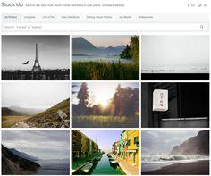 http://www.sitebuilderreport.com/stock-up Sei alla ricerca di immagini di qualità per il tuo sito, le tue bandiere sociali o per rendere più eleganti le tue presentazioni? Vuoi che siano gratis? Stock Up raccoglie e mette a disposizione le immagini HD provenienti dai migliori siti di immagini gratuite