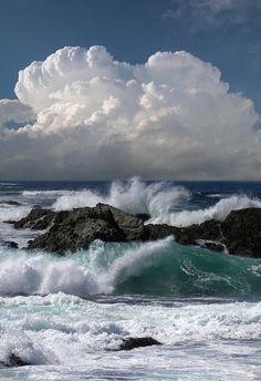 Ocean Sea: Breakers.